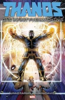 Jim Starlin: Thanos: Das Infinity-Vermächtnis, Buch