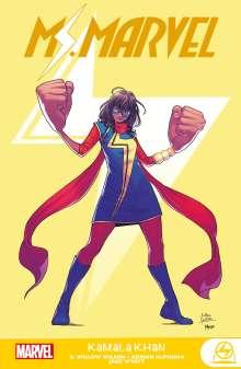 G. Wilow Wilson: Ms. Marvel: Kamala Khan, Buch