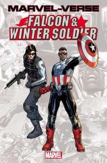 Ed Brubaker: Marvel-Verse: Falcon & Winter Soldier, Buch
