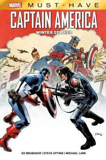 Ed Brubaker: Marvel Must-Have: Captain America, Buch