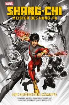 Warren Ellis: Shang-Chi: Meister des Kung-Fu - Die größten Kämpfe, Buch