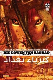 Brian K. Vaughan: Die Löwen von Bagdad Deluxe, Buch