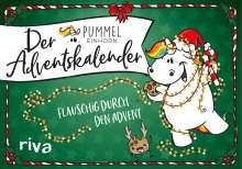 Pummeleinhorn: Der Pummeleinhorn-Adventskalender, Buch
