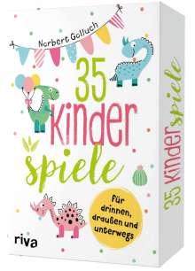 Norbert Golluch: 35 Kinderspiele für drinnen, draußen und unterwegs, Diverse