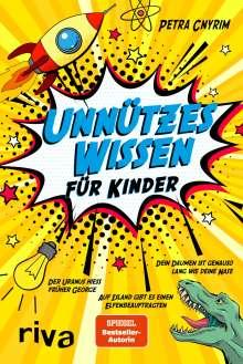 Petra Cnyrim: Unnützes Wissen für Kinder, Buch