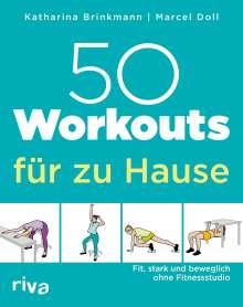 Marcel Doll: 50 Workouts für zu Hause, Buch