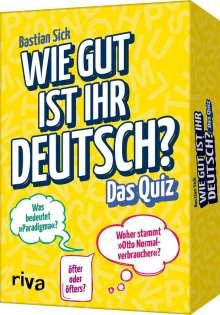 Bastian Sick: Wie gut ist Ihr Deutsch? - Das Quiz, Diverse