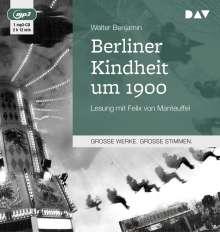 Walter Benjamin: Berliner Kindheit um 1900, CD