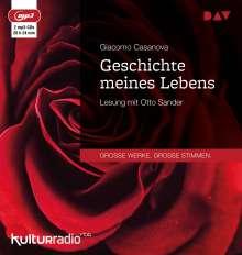 Giacomo Casanova: Geschichte meines Lebens, 2 CDs