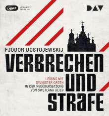 Fjodor M. Dostojewski: Verbrechen und Strafe, 3 CDs