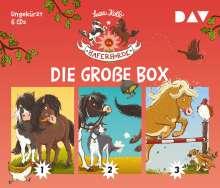 Suza Kolb: Die Haferhorde - Die große Box (Teil 1-3), 6 CDs