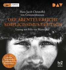 Hans Jacob Christoffel von Grimmelshausen: Der abenteuerliche Simplicissimus Deutsch, 2 MP3-CDs