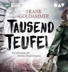 Frank Goldammer: Tausend Teufel, MP3-CD