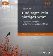 Heinrich Böll: Und sagte kein einziges Wort, MP3-CD
