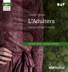 Theodor Fontane: L'Adultera, MP3-CD