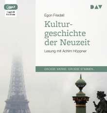 Egon Friedell: Kulturgeschichte der Neuzeit, MP3-CD
