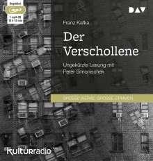 Franz Kafka: Der Verschollene, MP3-CD