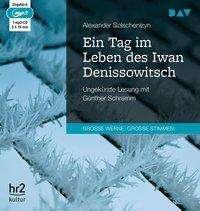 Alexander Solschenizyn: Ein Tag im Leben des Iwan Denissowitsch, MP3-CD
