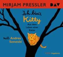 Mirjam Pressler: Ich bin's, Kitty. Aus dem Leben einer Katze, 4 CDs