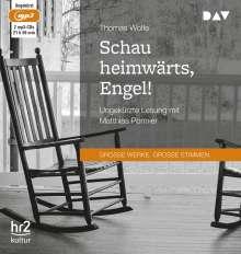 Thomas Wolfe: Schau heimwärts, Engel! Eine Geschichte vom begrabenen Leben, 2 CDs