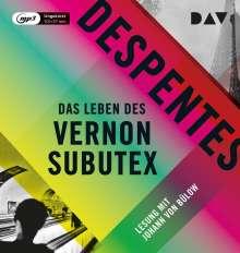 Virginie Despentes: Das Leben des Vernon Subutex, MP3-CD