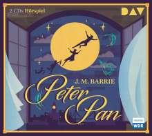 James Matthew Barrie: Peter Pan, 2 CDs
