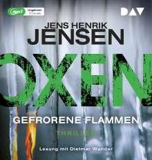 Oxen. Gefrorene Flammen, 2 MP3-CDs