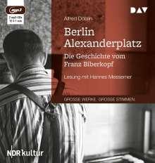 Alfred Döblin: Berlin Alexanderplatz. Die Geschichte vom Franz Biberkopf, 2 CDs