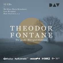 Theodor Fontane: Die große Hörspiel-Edition, 12 CDs