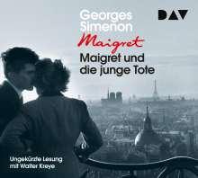 Maigret und die junge Tote, 4 CDs