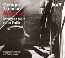 Maigret stellt eine Falle, 4 CDs