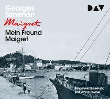 Mein Freund Maigret, 4 CDs