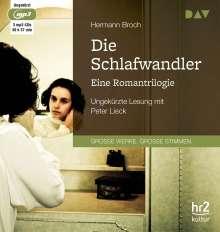 Broch Hermann: Die Schlafwandler. Eine Romantrilogie, 3 CDs