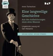 Anton Tschechow: Eine langweilige Geschichte. Aus den Aufzeichnungen eines alten Mannes, CD