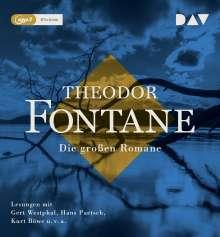 Theodor Fontane: Die großen Romane, 14 MP3-CDs