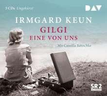 Gilgi-eine von uns, 5 CDs