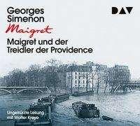 Georges Simenon: Maigret und der Treidler der Providence, 3 CDs