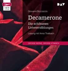 Giovanni Boccaccio: Decamerone. Die schönsten Liebeserzählungen, MP3-CD