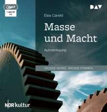 Elias Canetti: Masse und Macht, MP3-CD