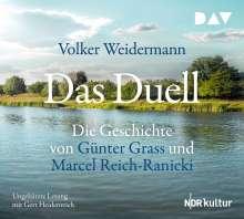 Volker Weidermann: Das Duell. Die Geschichte von Günter Grass und Marcel Reich-Ranicki, 5 CDs
