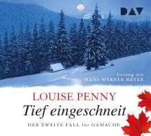 Louise Penny: Tief eingeschneit. Der zweite Fall für Gamache, 7 CDs