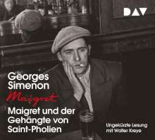 Georges Simenon: Maigret und der Gehängte von Saint-Pholien, 4 CDs