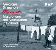 Georges Simenon: Maigret und das Verbrechen in Holland, 4 CDs