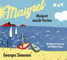 Georges Simenon: Maigret macht Ferien, 5 CDs