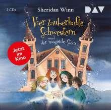 Vier zauberhafte Schwestern und der magische Stein, 2 CDs