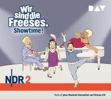 Wir sind die Freeses. Showtime!, 3 CDs