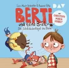 Lisa-Marie Dickreiter: Berti und seine Brüder - 01: Die Schokoladenkugel des Bösen, 2 CDs