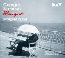 Georges Simenon: Maigret in Kur, 4 CDs