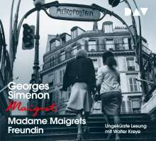 Georges Simenon: Madame Maigrets Freundin, 4 CDs