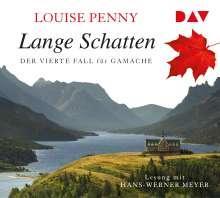 Louise Penny: Lange Schatten. Der vierte Fall für Gamache, 8 CDs